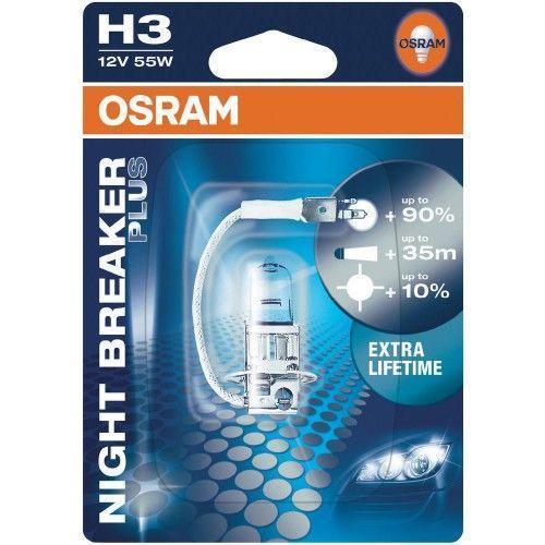 osram night breaker plus h3. Black Bedroom Furniture Sets. Home Design Ideas